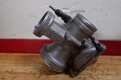 1985 1986 1987 1988 1989 Honda CR125 CR 125 carb carburetor body - Vintage MX