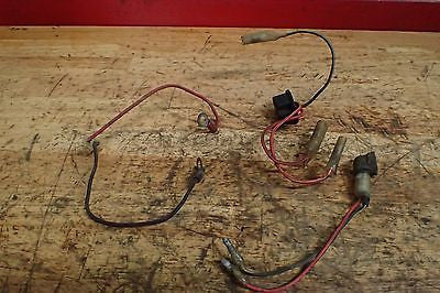1972 1973 Kawasaki H2 750 Mach IV assorted wire harness pieces - Vintage MX