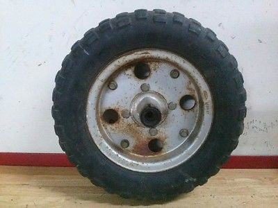 Honda Z50 Z 50 mini trail OEM wheel tire rim hub - Vintage MX