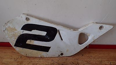 1998 1999 Honda CR125 CR 125 CR250 250 OEM right side frame cover plate - Vintage MX