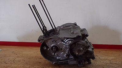 1974 Honda XR75 XR 75 engine motor crankshaft transmission clutch stator case - Vintage MX
