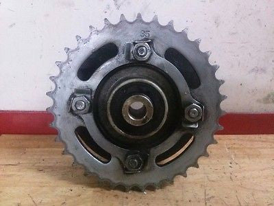 1982 1983 Yamaha Maxim XS400 XS 400 35T sprocket and hub - Vintage MX