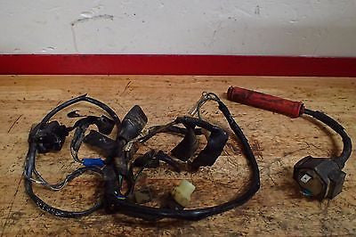 1984 Honda XR200 XR250 wire harness ignition coil kill switch - Vintage MX