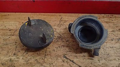 1981 Honda CR125 125 CR250  CR 250 radiator filler neck with cap - Vintage MX