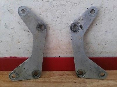 1972 Husqvarna WR450 WR 450 engine motor mounts - Vintage MX