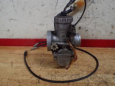 1977 Yamaha IT400 IT 400 carburetor carb and cable - Vintage MX