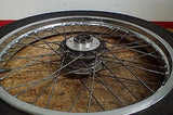 1973 1974 1976 1977 Suzuki GT500 GT GT550 GT750 front wheel rim hub good tire - Vintage MX