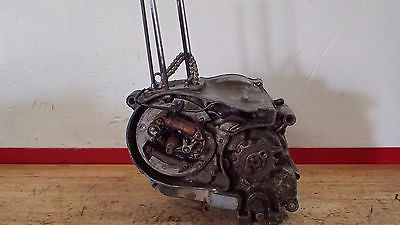 1973 Honda XR75 XR 75 engine motor crankshaft transmission clutch stator case - Vintage MX