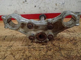 1976 1977 1978  Suzuki RM100 RM 100 steering stem triple tree clamp - Vintage MX