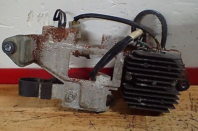 1979 1980 1981 1982 1983 Honda CM450 CM400 rectifier and bracket plate - Vintage MX
