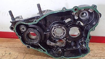 1982 Honda CR250 CR 250 left engine case crankcase - Vintage MX