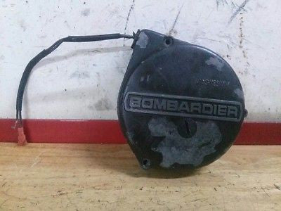 1976 Can-Am Can Am Bombardier MX2 125 stator engine cover magneto Motoplat - Vintage MX