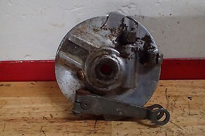 Honda CT90 CT 90 Trail front brake hub lever arm plate - Vintage MX