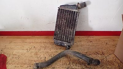 1981 Honda CR250  CR 250 left radiator with hose - Vintage MX