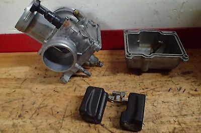 1985 1986 1987 1988 1989 Honda CR125 CR 125 carb carburetor body choke bowl - Vintage MX