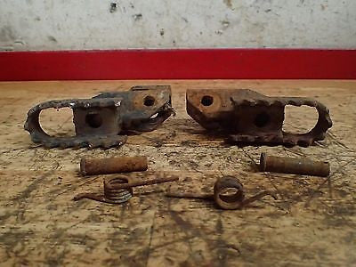 1975 1976 1977 1978  RM100 RM125 RM 125 TS185 pegs footpegs - Vintage MX