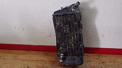 1982 Honda CR125 125 CR250  CR 250 right radiator - Vintage MX