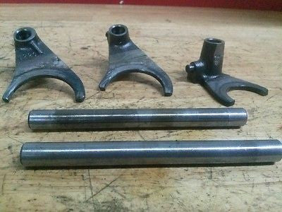 1976 Can-Am Can Am Bombardier MX2 125 shift forks and shafts - Vintage MX