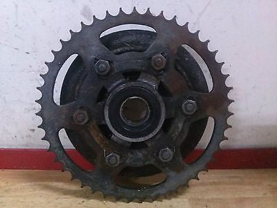 1973 Kawasaki H2 750 Mach IV OEM sprocket and hub holder drive - Vintage MX