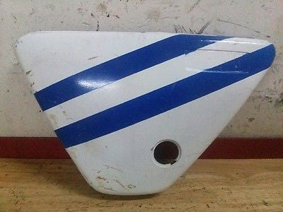 1976-1979 Kawasaki KD175 KD125 KD 125 175 left side cover plate - Vintage MX