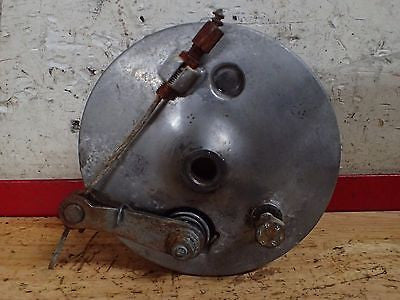 1968 Jawa 590 Californian front brake hub drum shoes lever actuator - Vintage MX