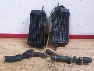 1985 Honda CR125 CR 125 OEM radiator radiators and hoses - Vintage MX
