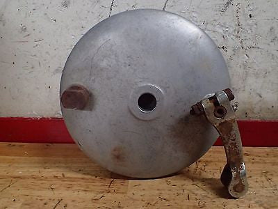 Sears Allstate Puch Twingle 175 rear brake hub drum lever shoes - Vintage MX