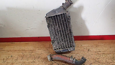 1981 Honda CR250  CR 250 right radiator - Vintage MX