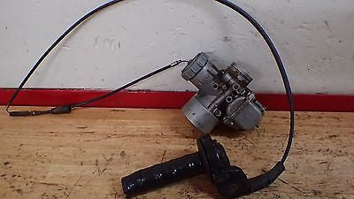 1978 Suzuki RM400 RM 400 carb carburetor throttle valve slide float bowl - Vintage MX