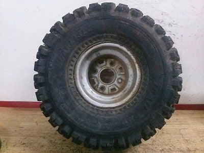 1985 Honda ATC250SX ATC 250 SX rear wheel with nice tire - Vintage MX