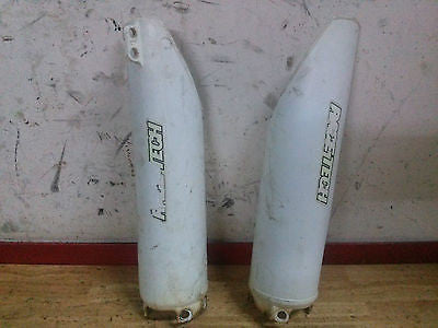 1990 1991 Honda CR125 CR250 CR500 fork guards protectors - Vintage MX