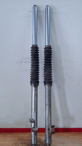 1981 1982 Suzuki RM125 RM 125 front forks suspension - Vintage MX