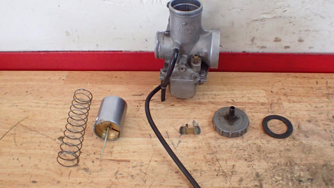 1981 1982 .Suzuki RM125 RM 125 carb carburetor with float bowl slide valve - Vintage MX