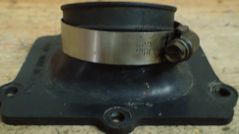 1982 1983 Suzuki RM250 RM 250 intake boot manifold carb holder - Vintage MX