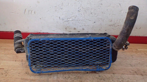 1984 1985 Suzuki RM125 RM 125 left radiator and hoses - Vintage MX