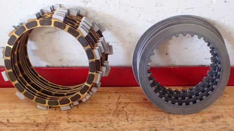 2002-2015 Yamaha YZ125  YZ 125 Barnett clutch kit friction disks plates Raptor - Vintage MX