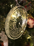 Crystal Ornament EOT Engine Order Telegraph Maritime USNA US Naval Academy Nautical - Samstagsandmore