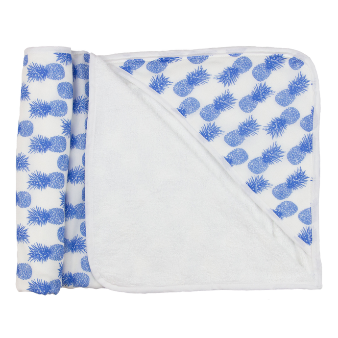 Blue Pineapple Beach Blanket