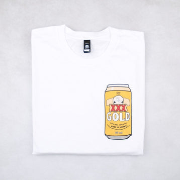 Classy Duds Short Sleeve T-Shirts 3X Gold Tee