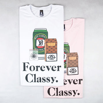 Classy Duds Short Sleeve T-Shirts Forever Classy Tee