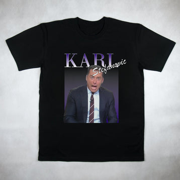 Classy Duds Short Sleeve T-Shirts Karl Stefanovic Commemorative Classic Tee
