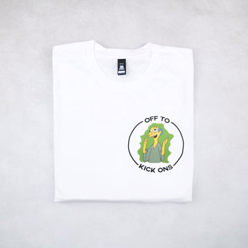Classy Duds Short Sleeve T-Shirts Off To Kick Ons Tee