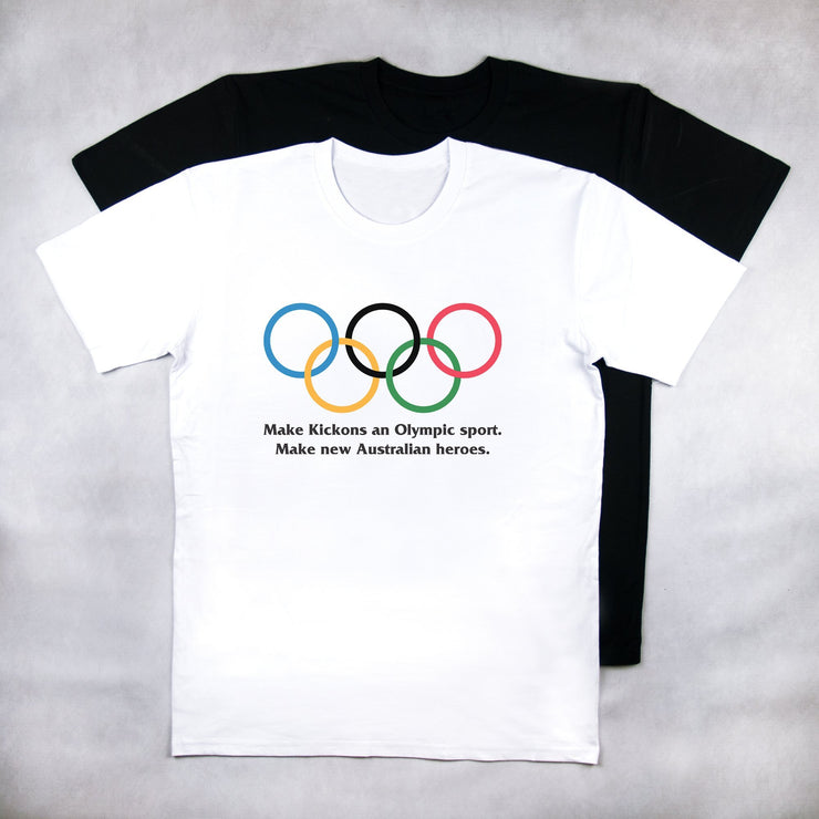 Classy Duds Short Sleeve T-Shirts S / White / Standard The Olympic Petition Tee