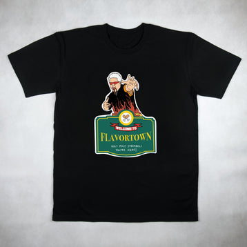 Classy Duds Short Sleeve T-Shirts Welcome To Flavortown Tee