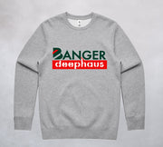 Ogo Merch Jumpers Grey Marle / Extra Small Banger Deephaus Jumper