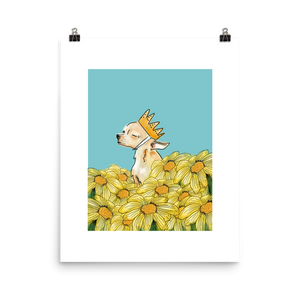 Flower Power Chi - Art Print
