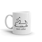Need Coffee - Sleeping Chihuahua Mug - House of Chihuahua