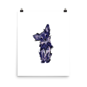 Purple Painted Chihuahua Art Print - House of Chihuahua