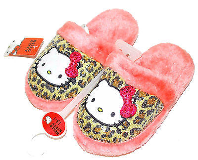 eedae0310790 ... Sanrio Hello Kitty Fur Lined Sequin Slippers for GIRLS, 11-12,13- ...