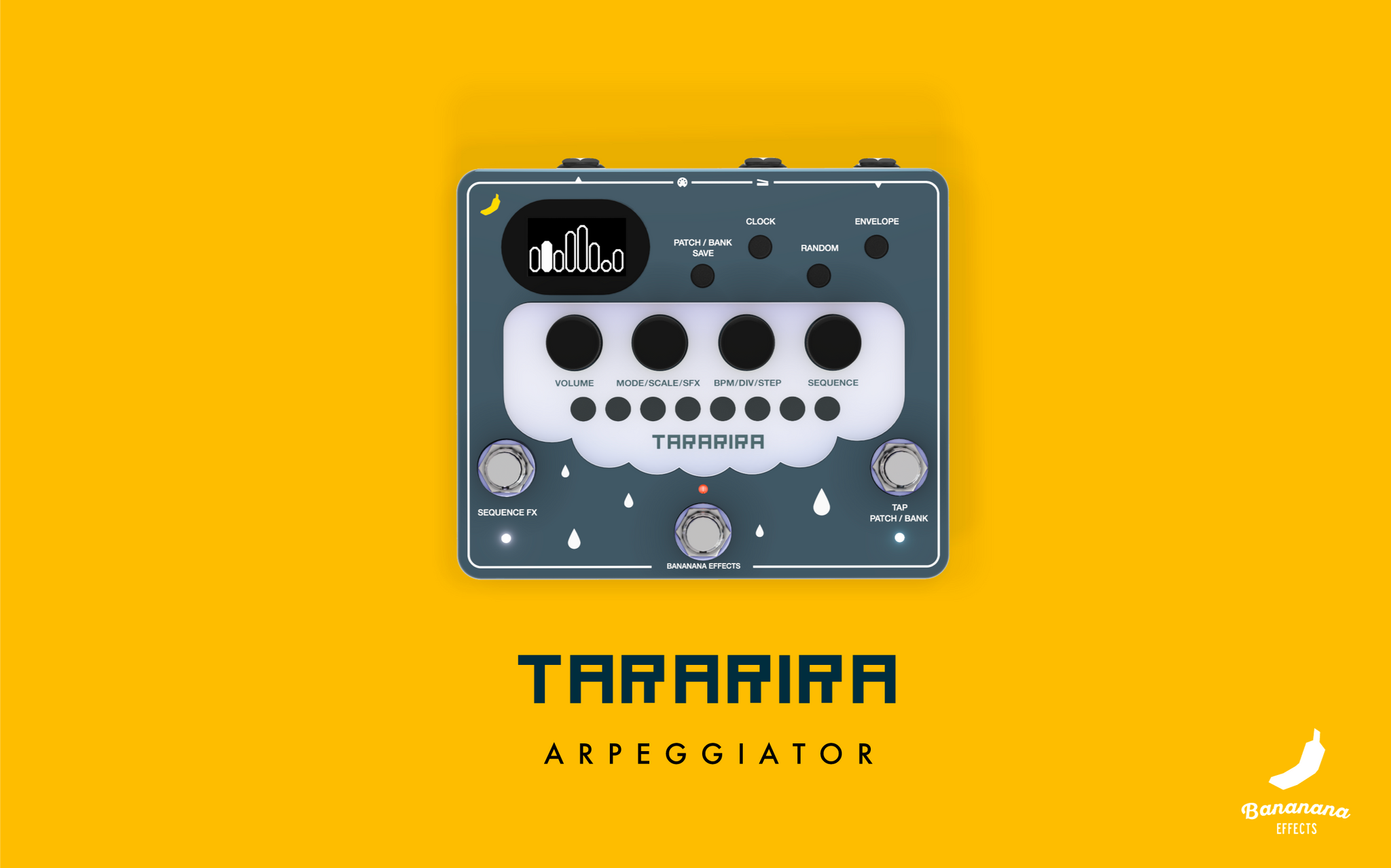 Tararira arpeggiator pedal finally will be released in February!